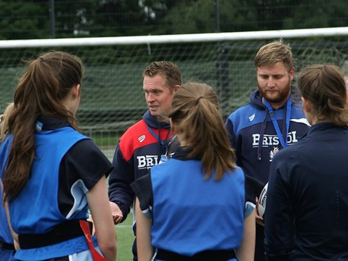 Bristol Ladies Attend Eagle Project To Mark Women's Sport Week