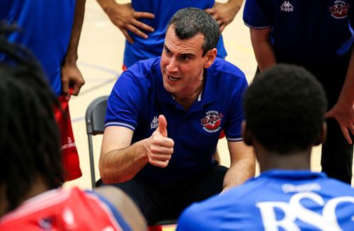Andreas Kapoulas Named Molten BBL Coach Of The Month