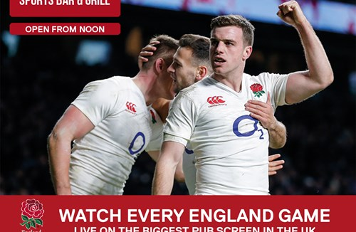 November - Watch Every England Rugby Game Live On The Biggest Screen In Bristol