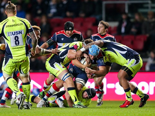 REPORT: Bristol Rugby 26 - 11 Sale Sharks