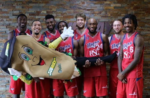 Bristol Flyers Partner With SUBWAY Bristol And West