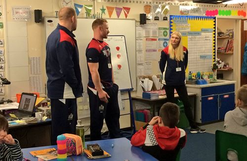 Bristol Duo Drop In For Primary School Q&A Session