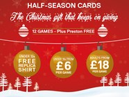 City Half-Season Cards On Sale Monday