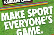 Bristol Flyers Support Stonewall's Rainbow Laces Campaign