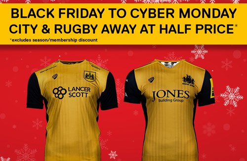 Black Friday Offer: Half Price Away Shirts