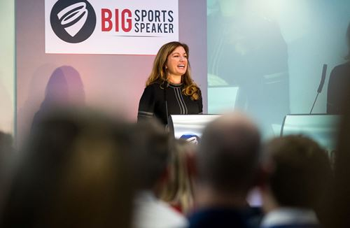 Big Sports Speaker Inspires Businesses To Think Differently