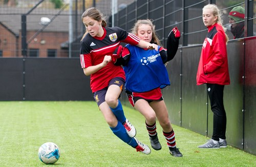 Community Trust's EFL Girls Cup Proves A Big Hit