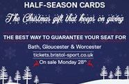 Half-Season Cards On Sale Now