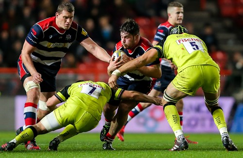 REPORT: Bristol Rugby 16 - 21 Leicester Tigers