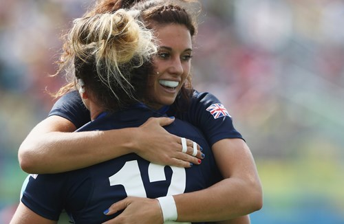 England Women Sevens Through To Cup Semi-Final