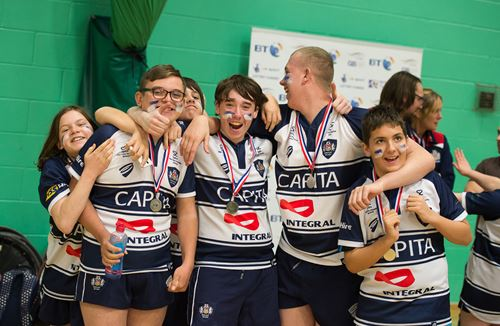 Bristol's Wheelchair Rugby Youngsters Star On National Stage