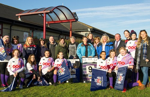 VIDEO: Bristol Ladies Show Support For Important Club In Their History