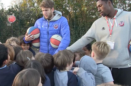 Video: Bristol Flyers Launch Health Squad