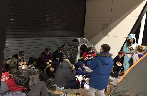 Community Trust Students Sleep Rough At Ashton Gate