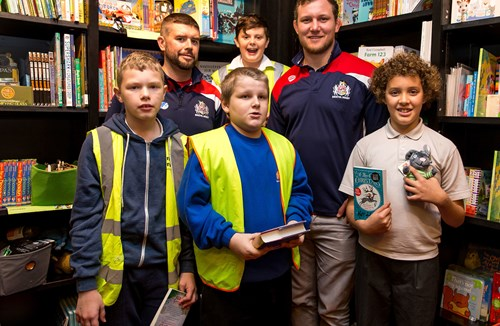 VIDEO: Reading Stars Enjoy Christmas Treat With Bristol's Nick Koster