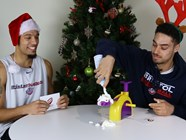 Video: Bristol Flyers - Pie Face Challenge