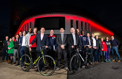 Bristol Sport Quartet Join Sponsors For Break The Cycle 2017 Launch