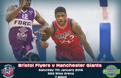 Preview: Bristol Flyers v Manchester Giants