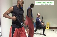 Video: Bristol Flyers Train With The PT Academy At Nuffield Health