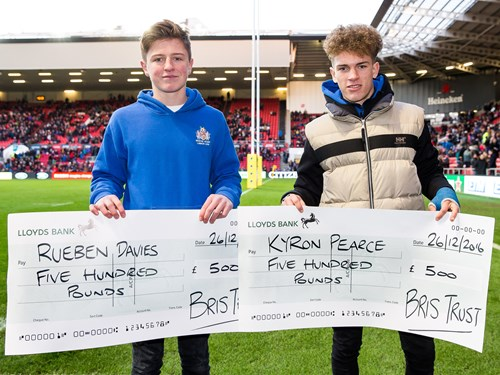 BRIS Trust Presents Annual Bursary To Rising Stars
