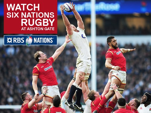 Watch the RBS Six Nations At The Sports Bar & Grill
