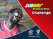 Video: Flyers Players Take On The SUBWAY Bristol & West Challenge