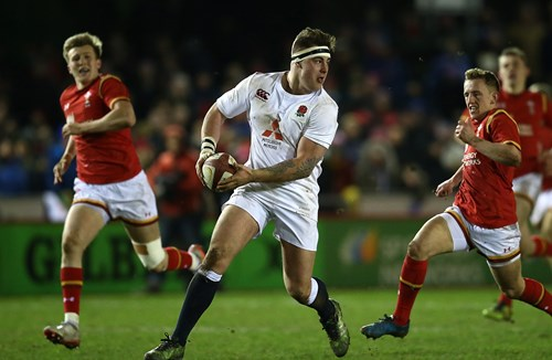Dawe Named In England U20 Side For Italy Clash