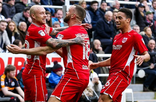 Report: Newcastle United 2-2 Bristol City