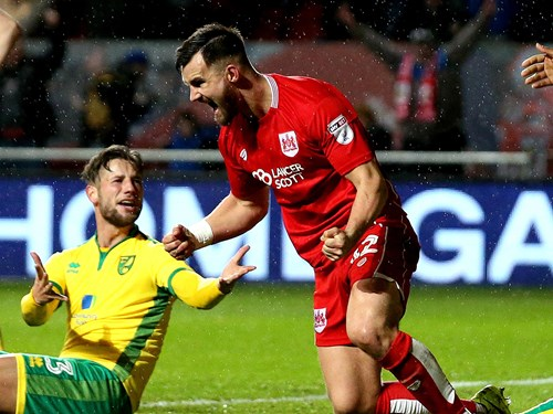 Report: Bristol City 1-1 Norwich City
