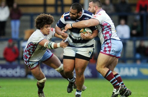 Bristol Rugby Bolster Front Row Options