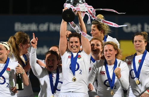 England Women Take Six Nations Grand Slam Title