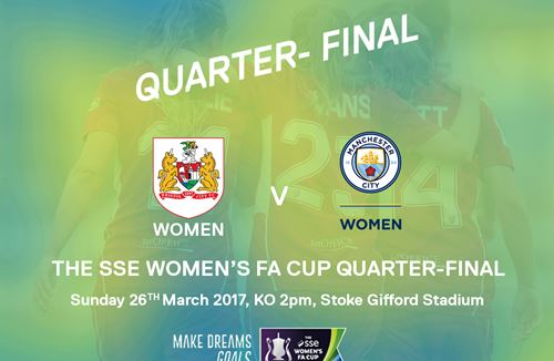 Vixens To Face Manchester City In Last Eight Of The Cup