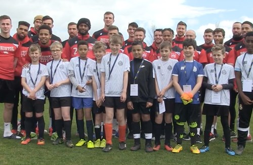 City Players Support QEH Football Festival