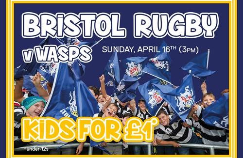 Kids For A Quid At Wasps Clash