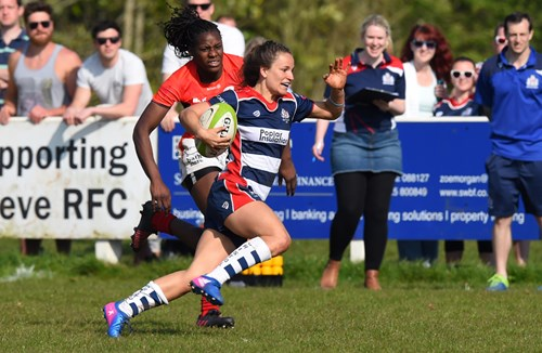 VIDEO: Bristol Ladies 43-10 Saracens