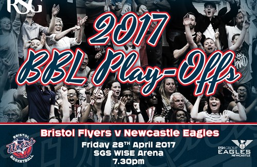 Bristol Flyers BBL Play-Off Tickets On Sale NOW!