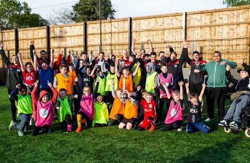 City duo attend Community Trust Disability Session