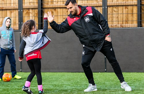 Gallery: City stars attend Community Trust Disability Session