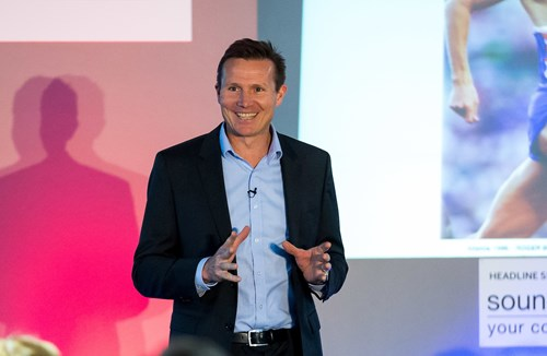 GALLERY: Athlete Roger Black Sets The Pace At Ashton Gate