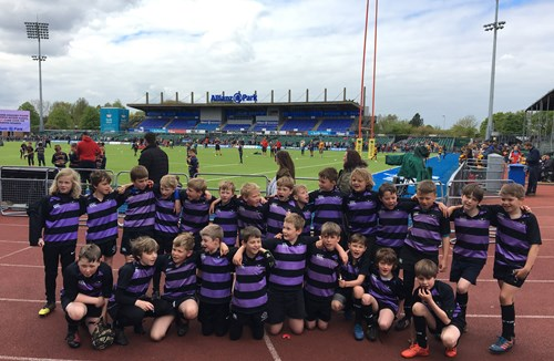 Clifton Youngsters Star At Allianz Park
