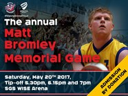 Bristol Flyers To Host Matthew Bromley Memorial Game