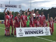 City Women celebrate Development League Cup triumph