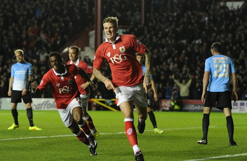Report: Bristol City 2-2 Bradford City