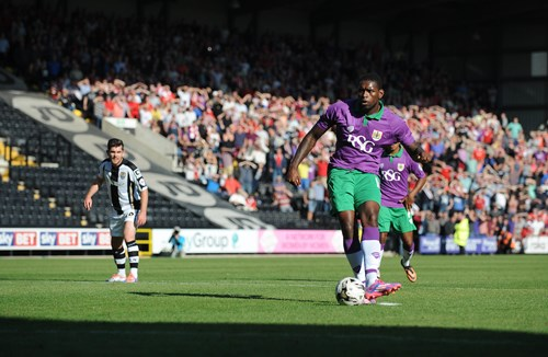 Report: Notts County 1-2 Bristol City