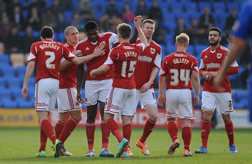 Report: Shrewsbury Town 2-3 Bristol City