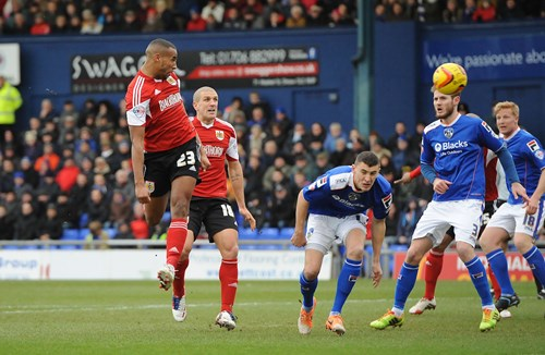 Report: Oldham Athletic 1-1 Bristol City