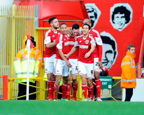 Report: Bristol City 4-1 Stevenage