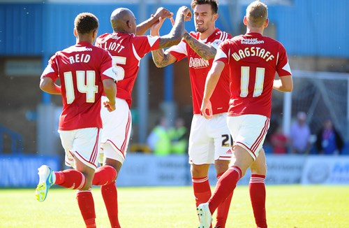 Report: Gillingham 1-1 Bristol City