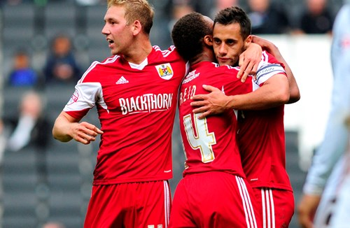 Report: MK Dons 2-2 Bristol City
