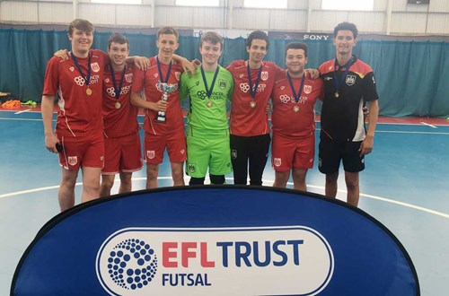 Futsal success for community students